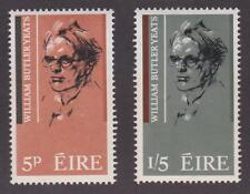 Ireland 1965 #200-01 William Butler Yeats (Set of 2) - MNH