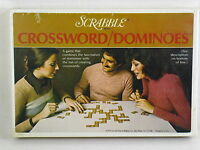 Scrabble Crossword Dominoes Board Game 1975 Selchow & Righter New Sealed @
