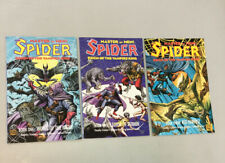 Spider Master Of Men 1-3 Reign Of The Vampire King Full Set Eclipse Comics 1992