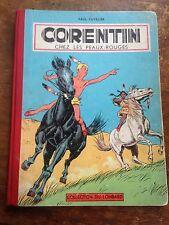 corentin chez les peaux rouges EO (1956) avec points tintin côte BDM : + 200e