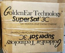 GoldenEar SuperSat 3C center channel speaker - brand new
