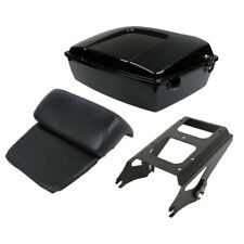 Trunk Pad Trunk Tour Pack Trunk + Portapacchi Two-up per Harley Road Glide 09-13
