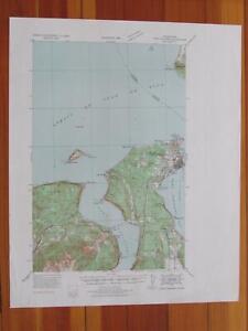 Holden Washington 1939 Original Vintage USGS Topo Map