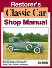 Restorer's Classic Car Shop Manual by Jim Schild (1991, Paperback)