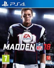 Madden NFL 18 (PS4) VideoGames