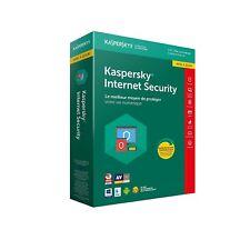 Kaspersky Internet Security 2018 Mise à jour 1 Appareil 1An,PC,Mac,Android, iOS