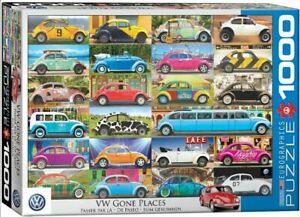Eurographics 1000 Piece jigsaw Puzzle - VW Beetle Gone Places  EG60005422