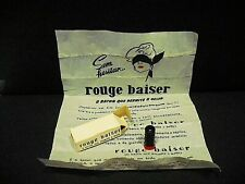 Rouge Baiser - sample vintage - made in Portugal in the 1950's