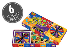 6 BOX'S BEAN BOOZLED SPINNER GAME 3.5oz JELLY BELLY. HIGH DEMAND!!
