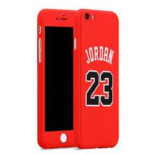 Apple iPhone 7 Plus Phone Case NBA Basketball Player Michael Jordan 23 Red Cover