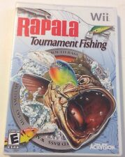 Rapala Tournament Fishing  (Nintendo Wii, 2006) Complete With Manual/tested.