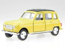 Renault 4 R4 yellow diecast modelcar 43741 Welly 1:34