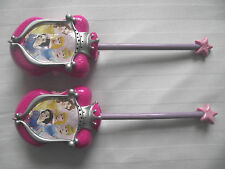 COPPIA di Rosa Principessa Disney Walkie Talkie