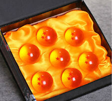 NEW in Boxed fashion 7xJP Anime Dragon Ball Z Stars small 4 cm Crystal Ball Set