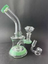 7� Best new Tobacco Hookah water bong pipe glass 14m bowl hand bubbler pipes