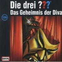 """DIE DREI ??? """"DAS GEHEIMNIS DER DIVA (FOLGE 139)"""" CD HÖRBUCH NEW"""
