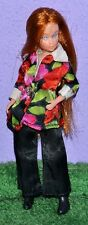 "UNEEDA TRIKI MIKI DOLLIKIN 6.5"" DOLL IN ON THE TOWN & BOOTS FASHION WOOLWORTHS"