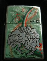 ZIPPO 24931 ZODIACO ARIETE 21/03-20/04  ACCENDINO LIGHTER Limited Edition Z7