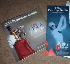 2014 GOLF Spectator Guide + Pairings Guide MEIJER LPGA Classic Blythefield CC !!