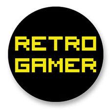 Magnet Aimant Frigo Ø38mm Retro Game Arcade Game Vintage Jeux 80s Retro Gamer