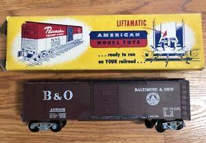 AMT (Auburn Model Toys) postwar Baltimore & Ohio Boxcar w/ Large Print?, Rare