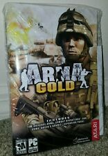 ARMA - GOLD EDITION for PC (CD WITH MANUAL) INCLUDES EXPANSION AND FREE SHIPPING