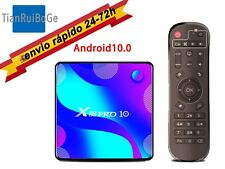X88 PRO 10 Android 10.0 TV Box 4K RK3318 Wifi BT 4.0 reproductor multimedia