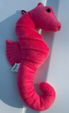 fiesta stuffed seahorse plush toy  pink with hanger 11 inch a40265