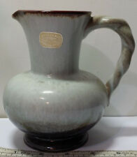 """CARSTENS TONNIESHOF West German Pottery Pitcher. 5.5"""" Tall. Very Good Condition."""