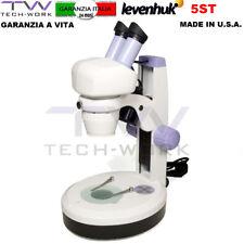 MICROSCOPIO STEREOSCOPICO RIPARAZIONE ELETTRONICA SMARTPHONE 20-40 X 5ST STEREO