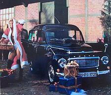 Altes Blechschild Oldtiimer Buckel Volvo Kombi Werbung Reklame gebraucht used