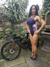 More details for bnwt rare ~ rio olympics women's adidas gbr elite triathlon swim suit ~ uk xs