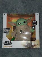 Disney Star Wars Mandalorian The Child Baby Yoda Plush w Accessories Mattel