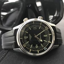 Longines Heritage Legend Diver Watch. L3.674.4.50.9.Super Compressor Sports Dive