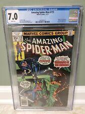 Amazing Spider-Man #175 (1977) Bronze Age Marvel Comics Punisher CGC 7.0