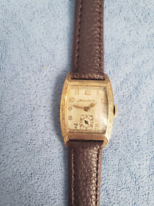 Bulova 10k Rolled Gold watch..working