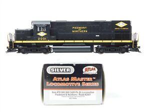 HO Scale Atlas Silver 10000060 PN Piedmont & Northern C420 Diesel Loco #2001