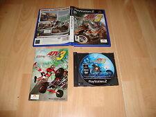 ATV OFFROAD FURY 3 DE CLIMAX PARA LA SONY PLAY STATION 2 PS2 USADO COMPLETO