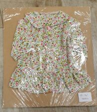 """Handmade Floral Dolls outfit to fit 12-14 """" doll"""