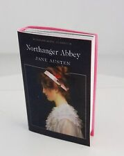 """Jane Austen """"Northanger Abbey"""" faux mini book for Tonner, other 16"""" dolls"""