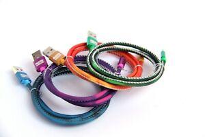 USB-C to USB Charge/Synchronizing 4' Color Changing Mood Cable USBC ORANGE
