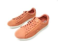 Lacoste Women's Carnaby EVO 118 1 SPW Sneaker Pink Lace Up Fashion Shoes, Size 8