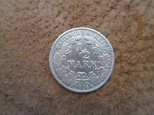 German  Empire ,Germany silver coin 1/2 mark,1906 VF