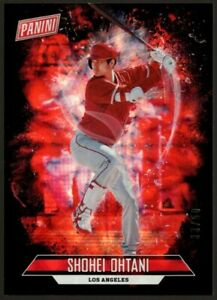 SHOHEI OHTANI /50 ROOKIE RED SILVER PRIZMS REFRACTOR RC 2018 PANINI FATHER'S DAY
