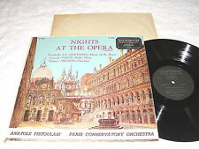 "Fistoulari/Paris ""Nights At The Opera-Vol. 1"" 1950's LP, VG+, Richmond B-19046"