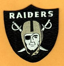OLD OAKLAND RAIDERS 3 1/2 inch JACKET JERSEY IRON ON PATCH UnusedStock LAS VEGAS