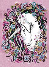 KSG Sequin Art Paillettenbild Blumenmädchen 1720 NEU