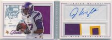 2012 PANINI PLAYBOOK BOOKLET JARIUS WRIGHT AUTOGRAPH EVENT-WORN MATERIAL 04/25