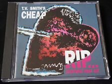 T.V. Smith's Cheap - RIP... Everything Must Go! (CD) THE ADVERTS EXPLORERS