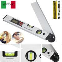 0-225° Goniometro Livella angolare Misuratore di livello Indicatore LCD digitale
